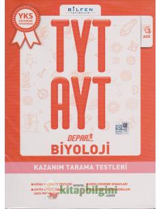 Bilfen Yayınları TYT AYT Biyoloji Depar Kazanım Tarama Testleri