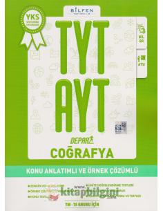 Bilfen Yayınları TYT AYT Coğrafya Depar Konu Anlatımlı ve Örnek Çözümlü