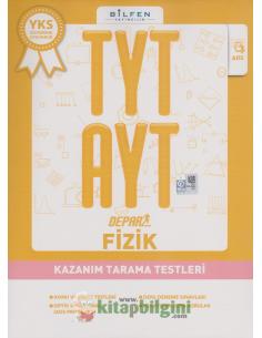 Bilfen Yayınları TYT AYT Fizik Depar Kazanım Tarama Testleri