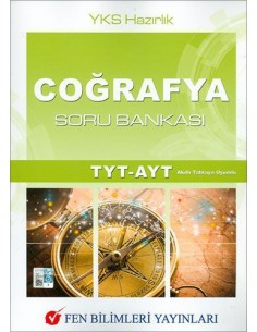 Fen Bilimleri Yayınları TYT- AYT Coğrafya Soru Bankası