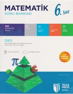 Teas Press 6.Sınıf Matematik 3 Aşamalı Soru Bankası
