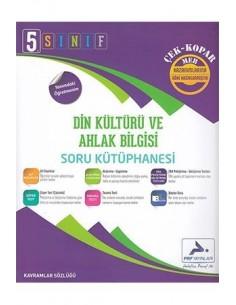 Paraf Yayınları 5.Sınıf Din Kültürü ve Ahlak Bilgisi Soru Kütüphanesi