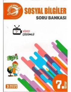 İşleyen Zeka Yayınları Ortaokul 7. Sınıf Sosyal Bilgiler Soru Bankası