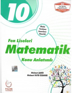 Palme Yayınları 10.Sınıf Fen Liseleri Matematik Konu Anlatım