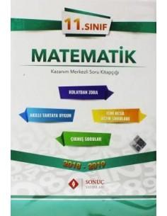 Sonuç Yayınları 11.Sınıf Matematik Kazanım Merkezli Soru Bankası Seti