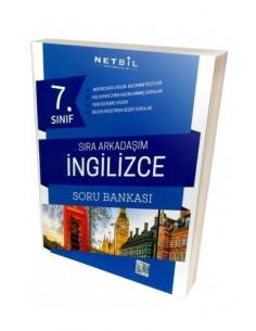 Netbil 7.Sınıf Sıra Arkadaşım İngilizce Soru Bankası