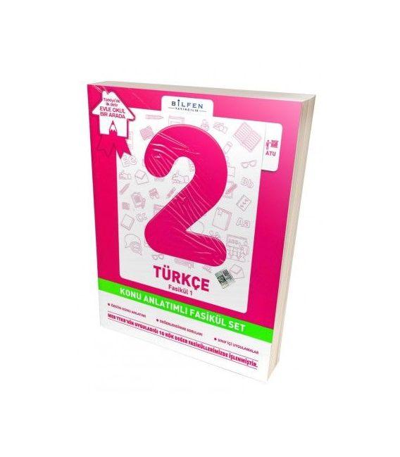 Bilfen Yayınları İlkokul 2.Sınıf Türkçe Konu Anlatımlı Yardımcı Fasikül Set – Ödev Fasikülleri