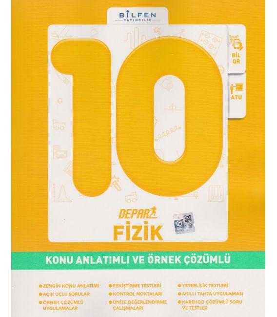 Bilfen Yayınları 10.Sınıf Fizik Depar Konu Anlatımlı ve Örnek Çözümlü