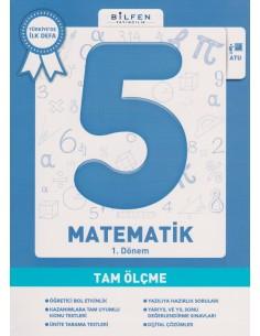 Bilfen Yayınları Ortaokul 5.Sınıf Matematik Tam Ölçme Soru Bankası
