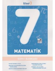 Biltest Yayınları Ortaokul 7.Sınıf Matematik Soru Bankası