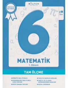 Bilfen Yayınları Ortaokul 6.Sınıf Matematik Tam Ölçme Soru Bankası