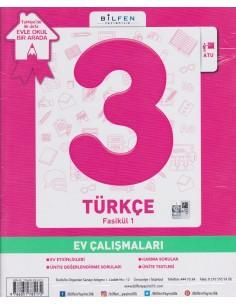 Bilfen Yayınları İlkokul 3.Sınıf Türkçe Konu Anlatımlı Yardımcı Fasikül Set – Ödev Fasikülleri