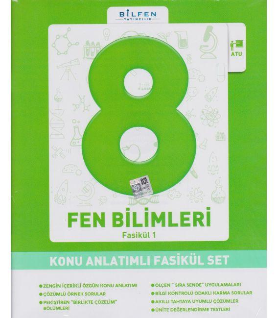 Bilfen Yayınları Ortaokul 8.Sınıf Fen ve Teknoloji Konu Anlatımlı Fasikül Set