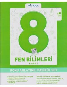 Bilfen Yayınları 8.Sınıf Fen Bilimleri Konu Anlatımlı Fasikül Set