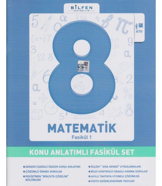 Bilfen Yayınları Ortaokul 8.Sınıf Matematik Konu Anlatımlı Fasikül Set