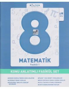 Bilfen Yayınları 8.Sınıf Matematik Konu Anlatım Fasikül Set