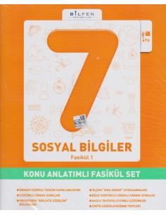 Bilfen Yayınları Ortaokul 7.Sınıf Sosyal Bilgiler Konu Anlatım Fasikül Set