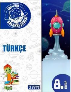 İşleyen Zeka 8. Sınıf Galaksi Serisi Türkçe Soru Bankası