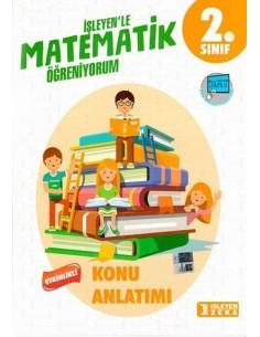 İşleyen Zeka Yayınları 2. Sınıf Matematik Etkinlikli Konu Anlatımı 2019