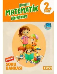 İşleyen Zeka Yayınları 2. Sınıf Matematik Etkinlikli Soru Bankası 2019