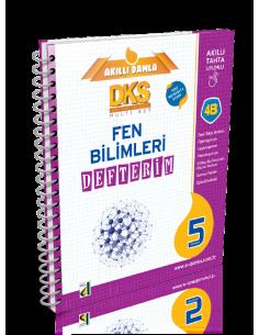 Damla Yayınları 5.Sınıf Fen Bilimleri Defterim