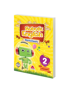 ROBOTIC ENGLISH WORKSHEETS BOOK - 2.GRADE