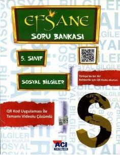 Açı Yayınları 5.Sınıf Sosyal Bilgiler Soru Bankası Kitabı