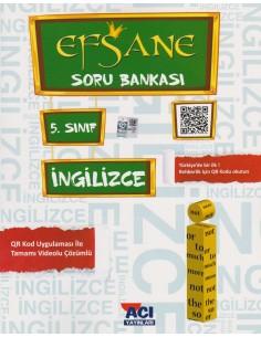 Açı Yayınları 5.Sınıf Ingilizce Konu Anlatımlı Soru Bankası Kitabı