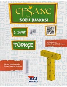 Açı Yayınları 5.Sınıf Türkçe Soru Bankası Kitabı