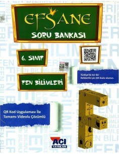 Açı Yayınları 6.Sınıf Fen Bilimleri Soru Bankası Kitabı
