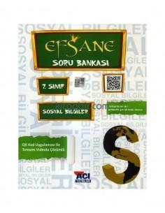 Açı Yayınları 7.Sınıf Sosyal Bilgiler Soru Bankası Kitabı
