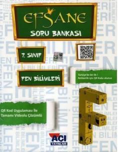 Açı Yayınları 7.Sınıf Fen ve Teknoloji  Soru Bankası Kitabı