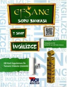 Açı Yayınları 7.Sınıf Ingilizce Konu Anlatımlı Soru Bankası Kitabı