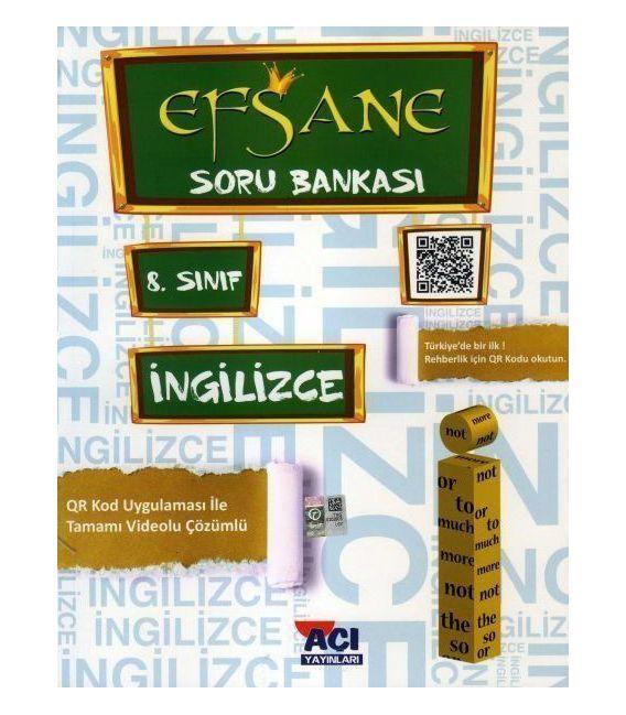 Açı Yayınları 8.Sınıf Ingilizce Soru Bankası Kitabı