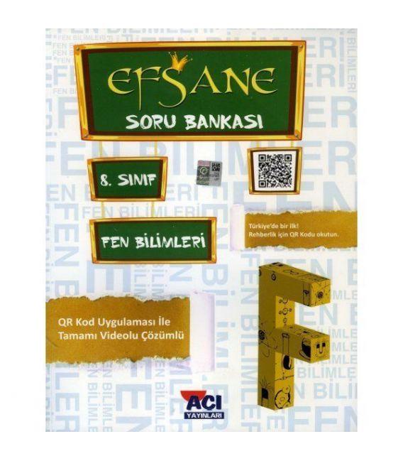 Açı Yayınları 8.Sınıf Fen ve Teknoloji Soru Bankası Kitabı