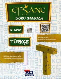 Açı Yayınları 8.Sınıf Türkçe Soru Bankası Kitabı