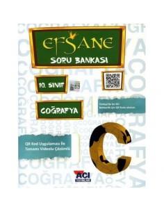 Açı Yayınları 10.Sınıf Coğrafya Efsane Soru Bankası
