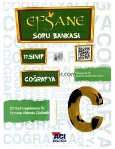Açı Yayınları 11..Sınıf Coğrafya Efsane Soru Bankası