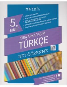 Netbil Yayınları 5.Sınıf Sıra Arkadaşım Türkçe Net Öğrenme