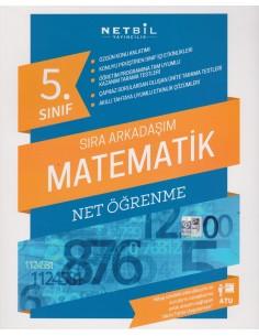 Netbil Yayınları 5.Sınıf Sıra Arkadaşım Matematik Net Öğrenme