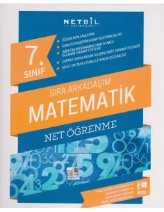 Netbil Yayınları 7.Sınıf Sıra Arkadaşım Matematik Net Öğrenme