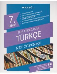 Netbil Yayınları 7.Sınıf Sıra Arkadaşım Türkçe Net Öğrenme