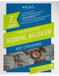 Netbil Yayınları 7.Sınıf Sıra Arkadaşım Sosyal Bilgiler Net Öğrenme