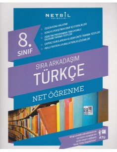 Netbil Yayınları 8.Sınıf Sıra Arkadaşım Türkçe Net Öğrenme