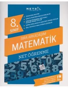 Netbil Yayınları 8.Sınıf Sıra Arkadaşım Matematik Net Öğrenme