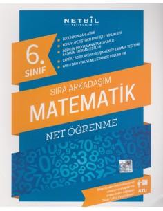 Netbil Yayınları 6.Sınıf Sıra Arkadaşım Matematik Net Öğrenme
