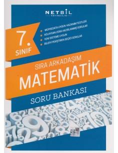 Netbil 7.Sınıf Sıra Arkadaşım Matematik Soru Bankası