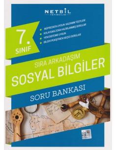 Netbil 7.Sınıf Sıra Arkadaşım Sosyal Bilgiler Soru Bankası