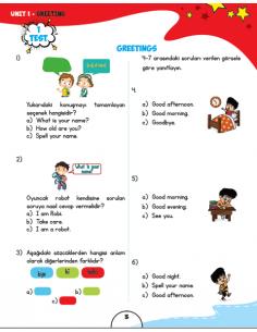 Schola Publishing 3. Sınıf Twinkle Test Book 2017