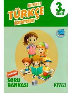 İşleyen Zeka Yayınları 3. Sınıf Türkçe Etkinlikli Öğreniyorum Soru Bankası